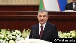 Шавкат Мирзиеёв, раиси ҷумҳури Узбекистон.