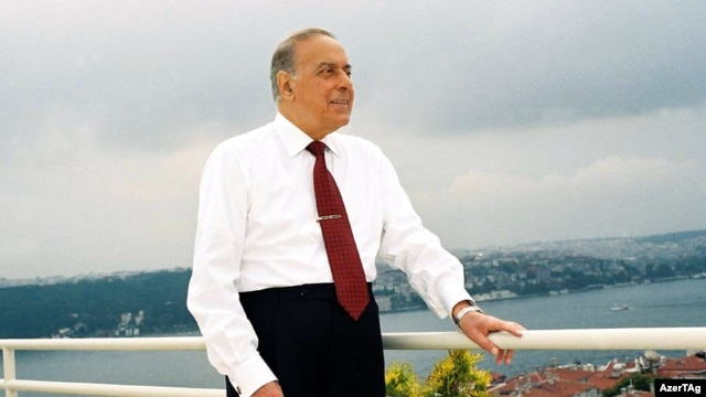 Heydar Aliyev handed power to his son in 2003.