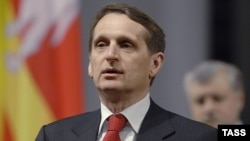 Sergei Naryshkin, the Kremlin's top optimist?