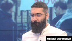Armenia -- Artur Danielian, the leader of Adekvad movement, January 28, 2020.