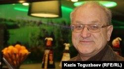Шығыс Қазақстан облысындағы Риддер қаласының тұрғыны Александр Харламов. Алматы, 31 қаңтар 2015 жыл.
