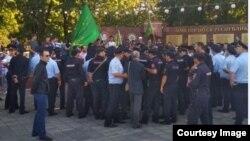 Митинг в Нальчике, Кабардино-Балкария (архивное фото)