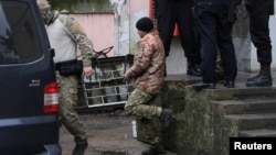 A court in Russia-controlled Simferopol has ordered 15 of the captured sailors to be held in pretrial detention for two months despite international calls for their release.