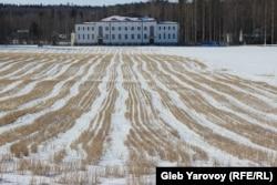 Белый дом в финской Вяртсиля