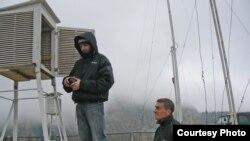 Сніголавинна метеостанція «Пожижевська» – що три години працівники знімають показники. (Фото начальника обласного гідрометеоцентру В.Фриговича)