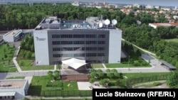 Sediul Radio Europa Liberă/Radio Libertatea de la Praga