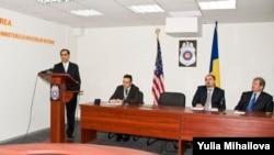 Ambasadorul Asif Chaudhry la ceremonia de la MAI