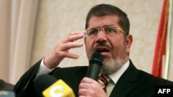 "Кандидат в президенты от движения ""Братья-мусульмане"" Мохаммед Мурси"