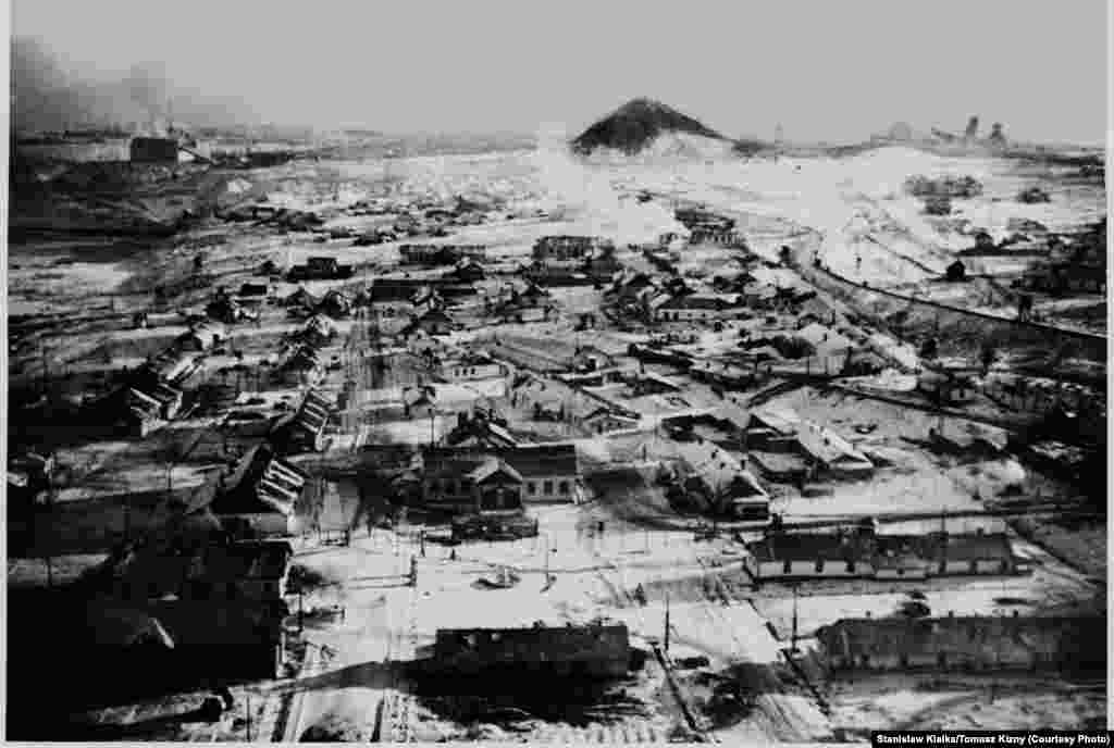 The camps at Vorkuta were established in 1931 to mine coal in the Ural Mountains in the Arctic. They continued to operate until 1956.