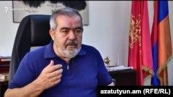 Представитель Бюро АРФ «Дашнакцутюн» Грант Маркарян, Ереван, 15 августа 2018 г.