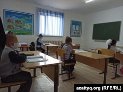 In August, the Kazakh government said 1,934 schools in remote villages with a relatively low number of coronavirus infections were allowed to remain open.