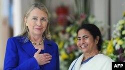 Klinton në Kalkutë, 7 maj 2012.