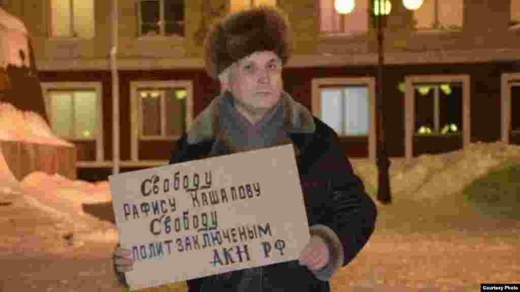Йошкар-Олада активист Виталий Танаков