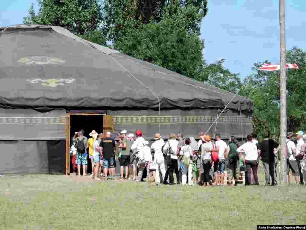 The Yurt of Ancestors -- a mobile museum of archeological findings linking Hungarians to the nomadic culture of the vast Eurasian steppes​