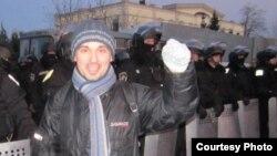 Сергій Кемський на Євромайдані