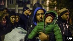 Еуропадағы сириялық босқындар. (Көрнекі сурет)