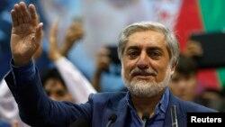 عبدالله عبدالله، یکی از دو نامزد دور دوم انتخابات ریاست جمهوری افغانستان