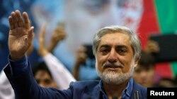 Abdullah Abdullah gjatë fjalimit në Kabul