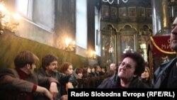 Прочистените фрески ја наполнија црквата Св. Димитрија