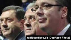 Mlorad Dodik, Tomislav Nikolić i Aleksandar Vučić