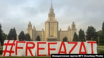 Students, Graduates Of Moscow State University Demand Jailed Math Student's  Release