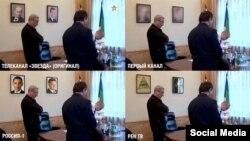 Как могли бы показать обыск в кабинете Вячеслава Гайзера на разных российских телеканалах, фотожабы пользователей Сети