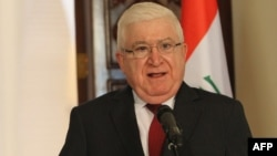 رئيس جمهورية العراق فؤاد معصوم