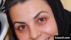 ناهید جعفری فعال جنبش زنان. عکس از کسوف.