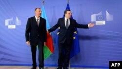 Prezident İlham Əliyev və Avropa Komissiyasının rəhbəri Jose Manuel Barroso