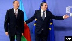 Photo arxiv: İlham Əliyev və Jose Manuel Barroso - 2013