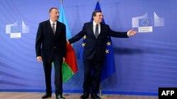 İlham Əliyev və Jose Manuel Barroso - 2013