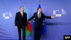 Jose Manuel Barroso və İlham Əliyev