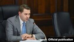 Первый вице-премьер-министр КР Артем Новиков, временно исполняющий обязанности главы правительства.