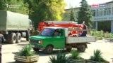 WATCH: Injured Taken To Hospital On Truck After Crimea Blast