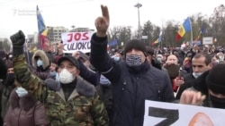 Moldovan Protesters Demand Snap Elections