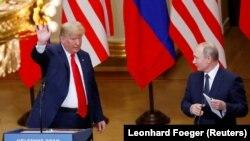 Пресс-конференция Путина и Трампа в Хельсинки, вызвавшая критику в США