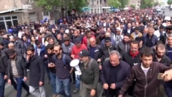 Armenian Security Forces Detain Protest Leader Pashinian