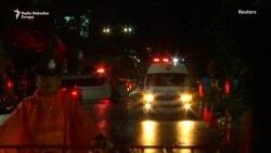 Ambulantna kola dovoze spasene dečake