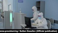 Одна из больниц в Кыргызстане.