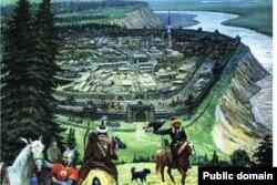 Себер ханлыгы башкаласы Искер шәһәре