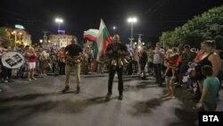 Орлов мост в София се превърна в център на протестите