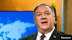 Secretarul american de stat Mike Pompeo