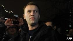Prominent anti-Kremlin blogger Aleksei Navalny