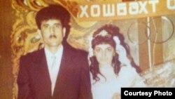 İntiqam Əliyev xanımı ilə toyunda