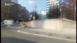 Novi zid u Severnoj MItrovici