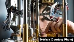Начинка устройства D-Wave