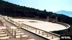 Військовий цвинтар біля міста Кассіно