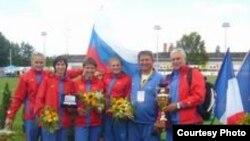 Сборная России - серебряный призер командного Кубка Европы по многоборью