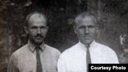 Максім і Гаўрыла Гарэцкія. 10 жніўня 1924 г.