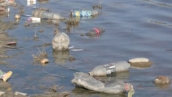 Plastic Fills Tajik Capital's Rivers